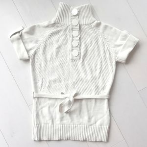 Danish knitwear short sleeve sweater small
